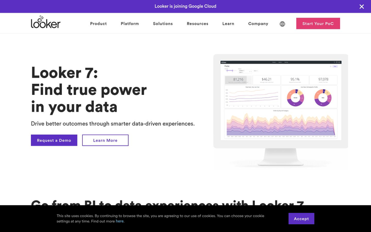 Looker - Data Visualization Software