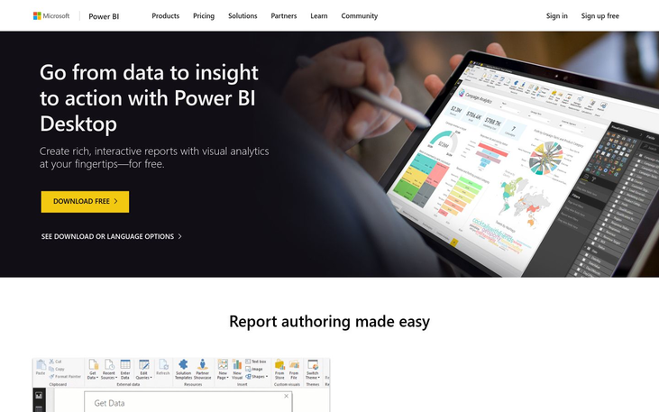 Power BI Desktop (Free)