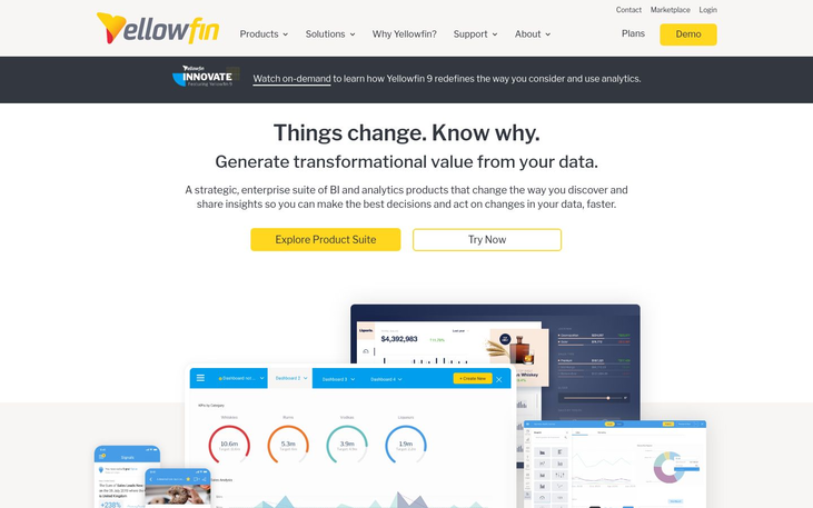 Yellowfin - Best Bi Tools For Smb